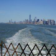 Blick von Staten Island Ferry NYC | wat-erleben