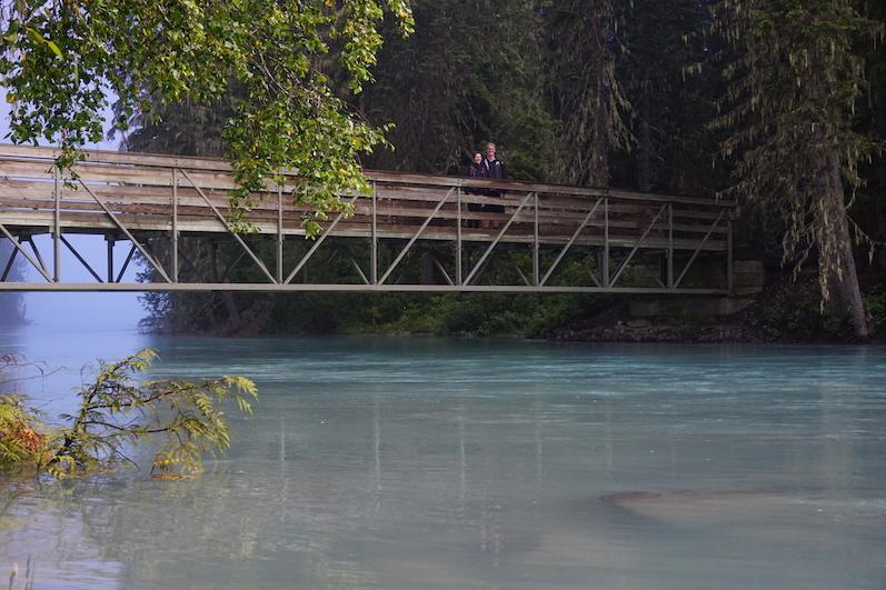 Brücke zum Kinney Lake | wat-erleben
