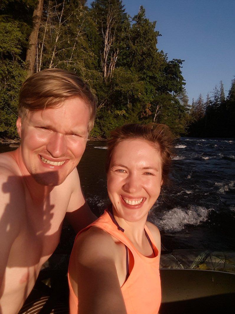 Rafting im Campbell River | wat-erleben
