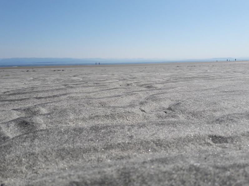 Strand in Campbell River   wat-erleben