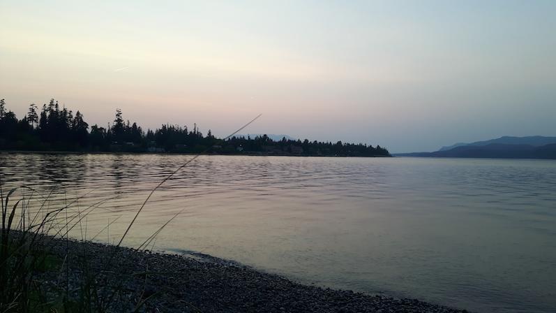 Das Meer bei Campbell River | wat-erleben