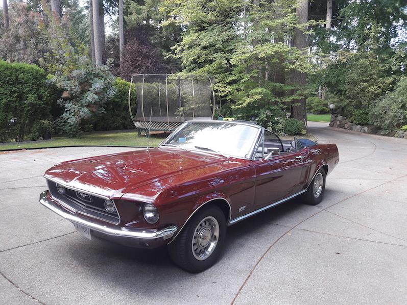 Der 68er Ford Mustang, Campbell River | wat-erleben
