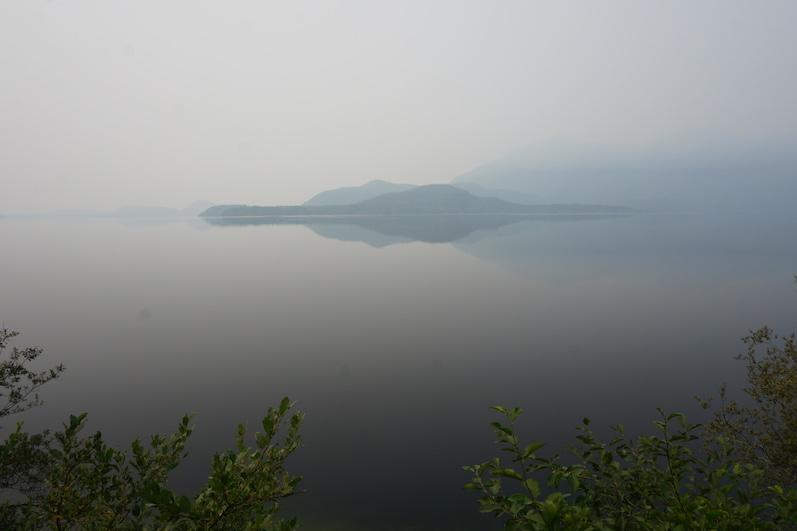 Kennedy Lake; Weg nach Tofino   wat-erleben