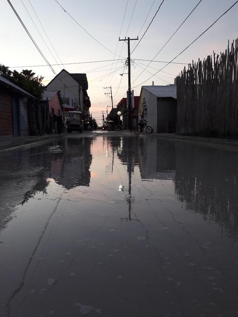 Die sandigen Straßen auf der Insel, Isla Holbox | wat-erleben