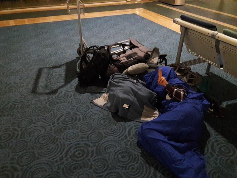 Eine Nacht am Vancouver Flughafen | wat-erleben