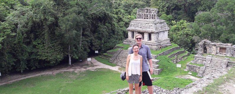 Wir mussten jeden Tempel erklimmen, Palenque | wat-erleben
