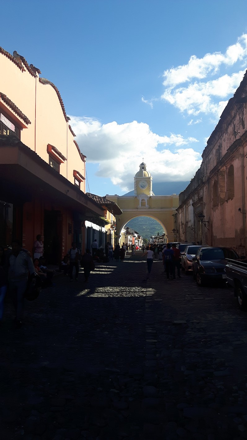 Die Innenstadt von Antigua,Arco de Santa Catalina | wat-erleben