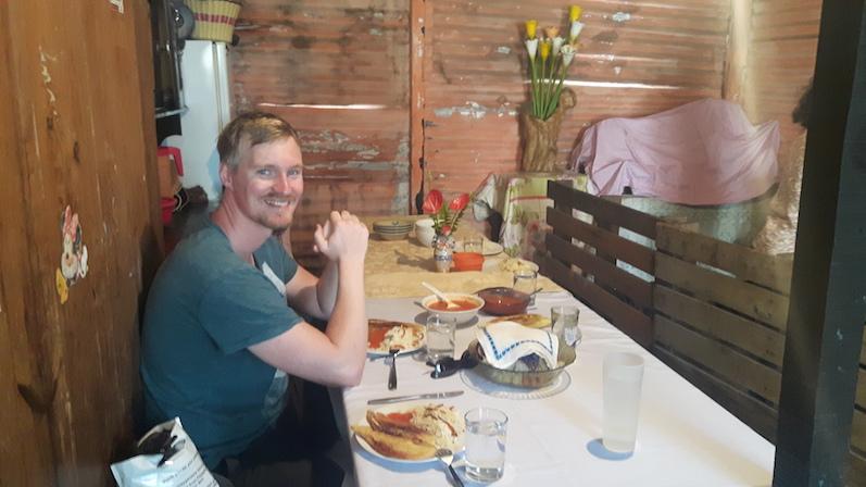 Essen bei der Familie von Carolina in Antigua mit ResiRest | wat-erleben