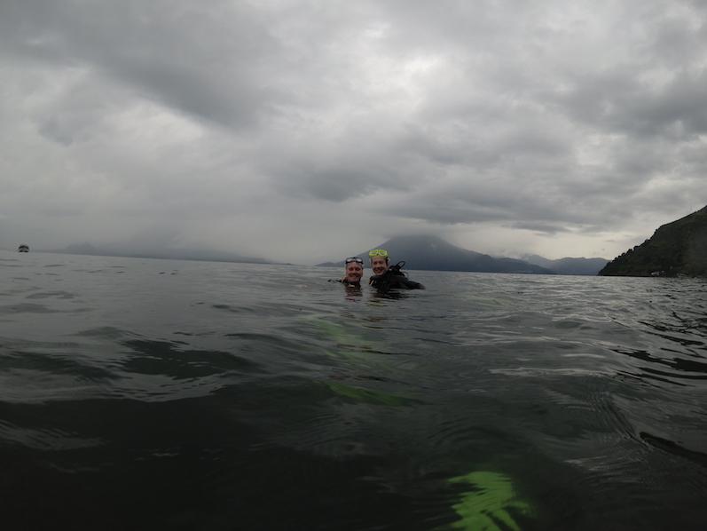 Tauchen im Vulkankrater, Lake Atitlan | wat-erleben