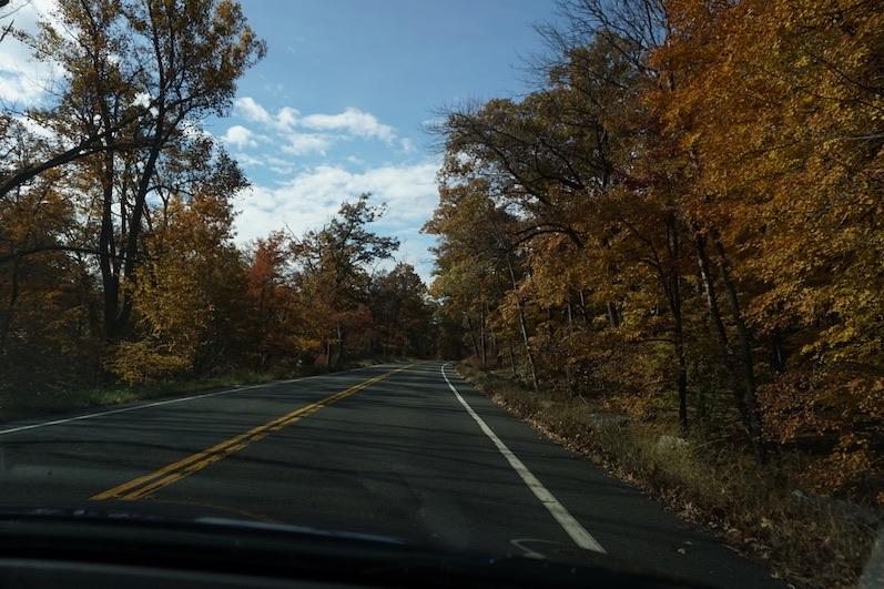 Auf dem Weg zum Bear Mountain State Park, New York | wat erleben