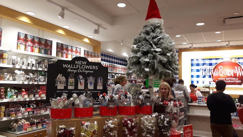 Die Mall ist schon auf Weihnachten eingestellt | wat-erleben