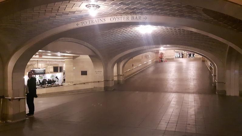 Die Whispering Gallery im Grand Central, ich stand nach dem Foto schräg gegenüber | wat-erleben