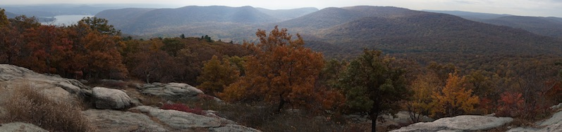 Herbst - Indian Summer am Bear Mountain, New York | wat erleben