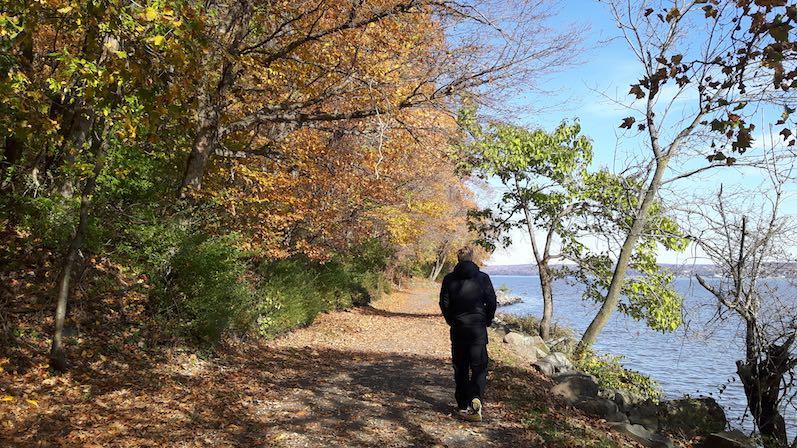 Heutiger Spaziergang am Nyack Beach State Park | wat-erleben