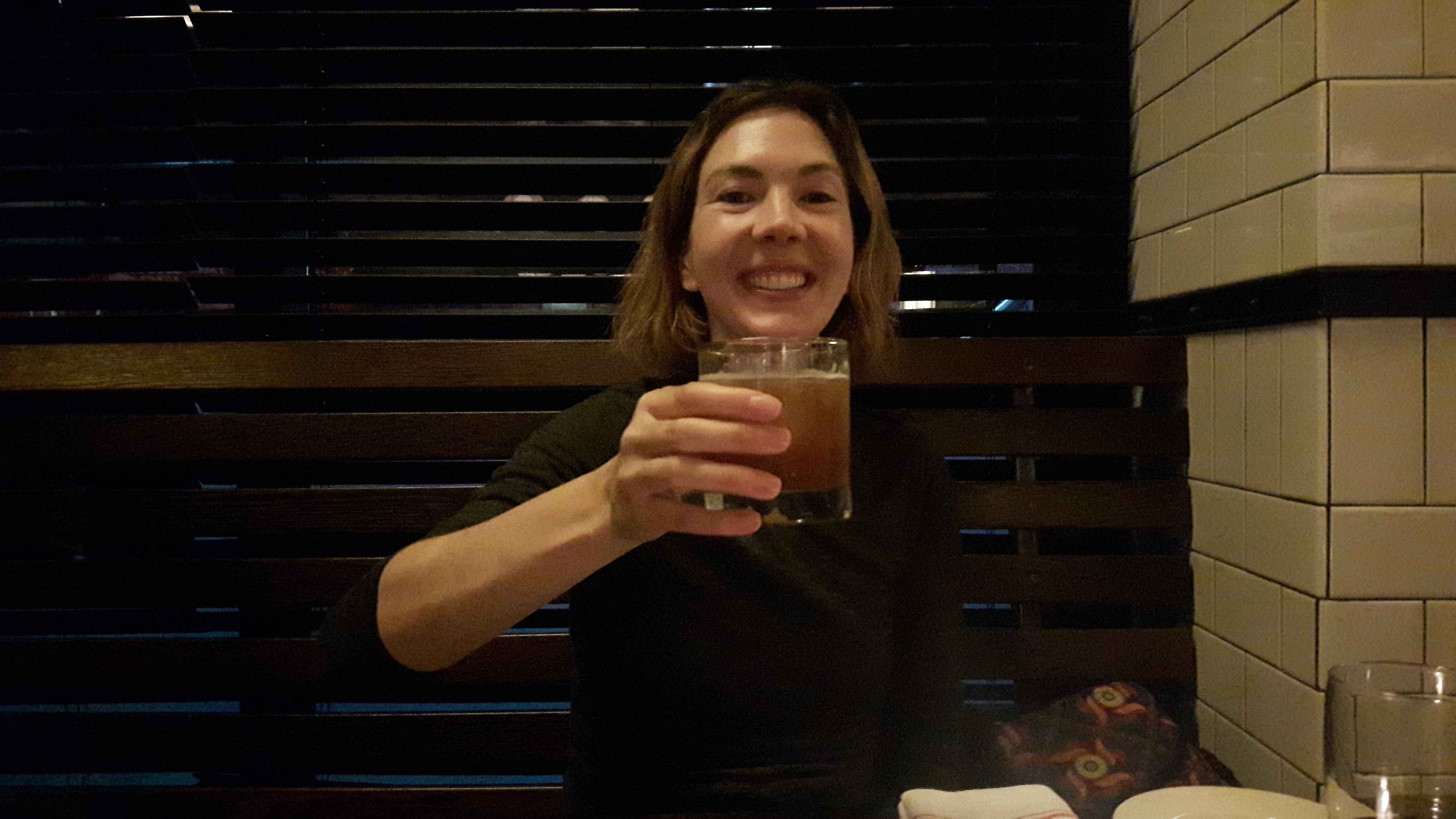 Waikiki-Cocktail auf unser Halbjähriges unserer Weltreise, The Smith,NYC | wat-erleben