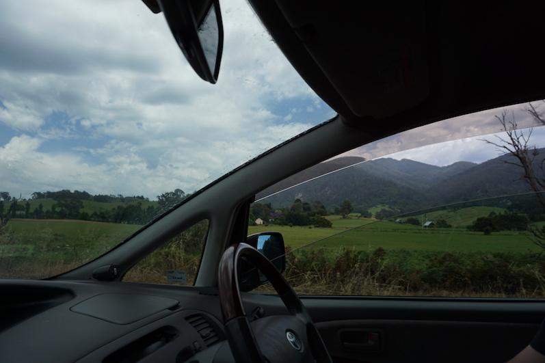 Bergige Landschaft, von Sydney nach Melbourne | wat-erleben
