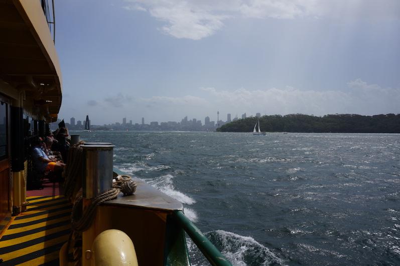 Blick auf Sydney, Fähre nach Manly Beach | wat-erleben