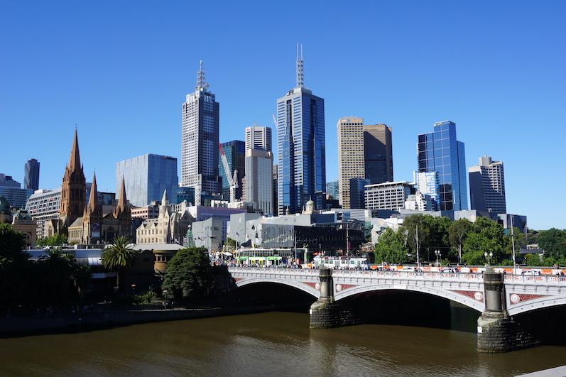 Die Skyline von Melbourne | wat-erleben