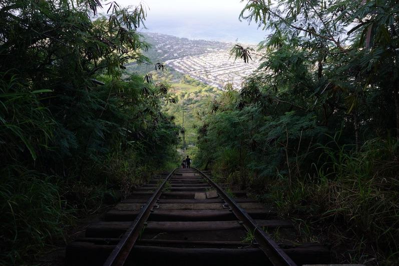 Ein Trail wie eine Achterbahnfahrt, O´ahu | wat-erleben