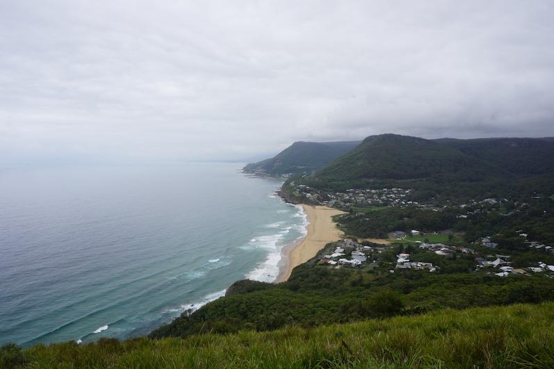 Erster Stop des Roadtrips, Lookout kurz vor der Sea Cliff Bidge | wat-erleben