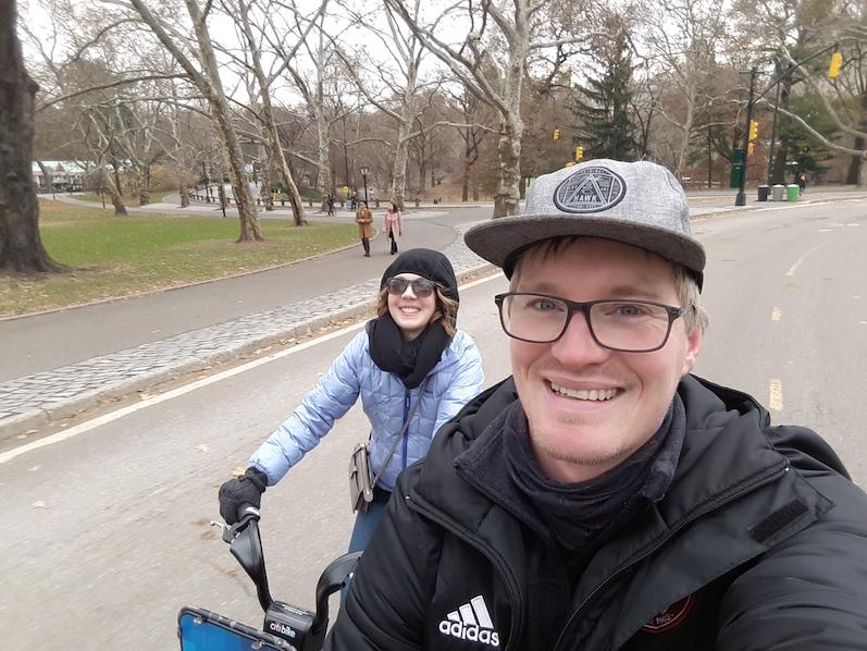 Fahrradfahren im Central Park, NYC | wat-erleben