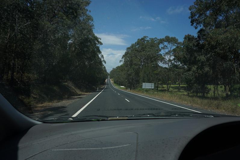 Kein Auto zu sehen, Roadtrip von Sydney nach Melbourne | wat-erleben
