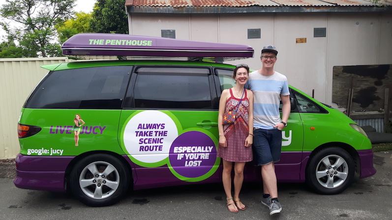 Unser Jucy Campervan für drei Nächte von Sydney nach Melbourne Roadtrip | wat-erleben