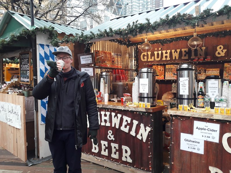 Weihnachtsmarkt am Central Park, Glühwein, NYC | wat-erleben