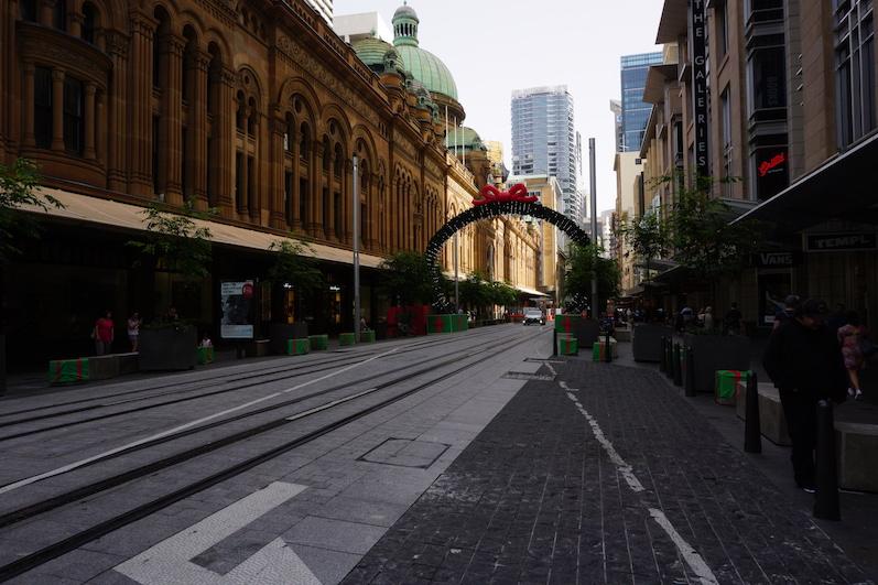 Weihnachtsstimmung in Sydney am Queen Victoria Building | wat-erleben