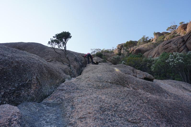 Mount Amos mit Händen und Füßen, Tasmanien | wat-erleben
