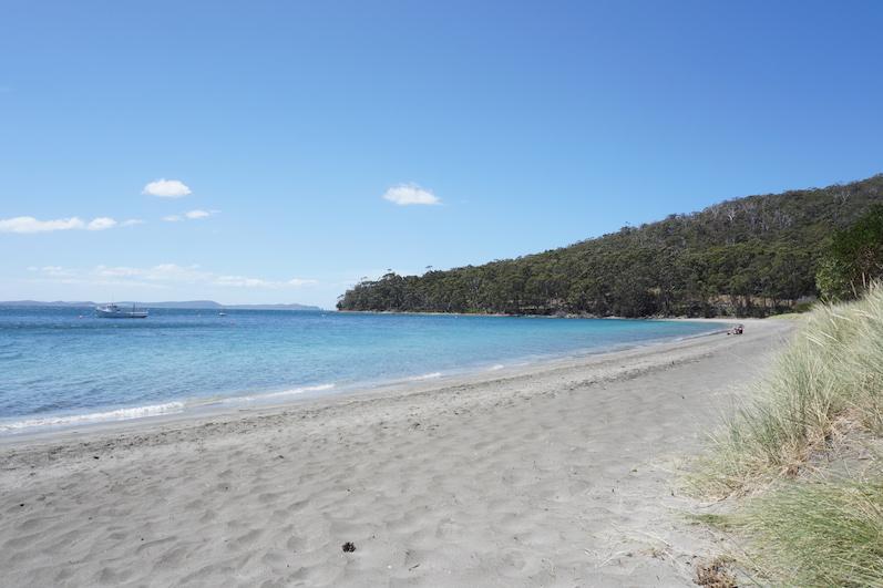 Unsere Bucht, die Adventure Bay, Bruny Island | wat-erleben