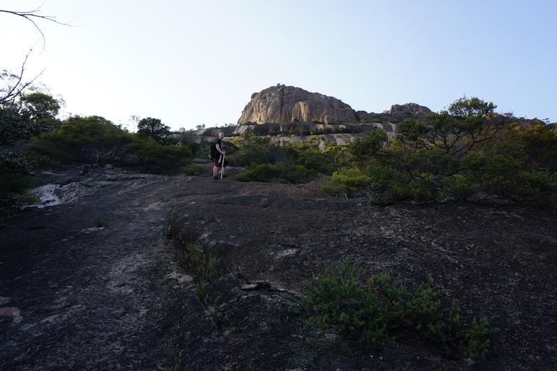 Wanderung auf den Mount Amos, da gings hoch, Tasmanien | wat-erleben