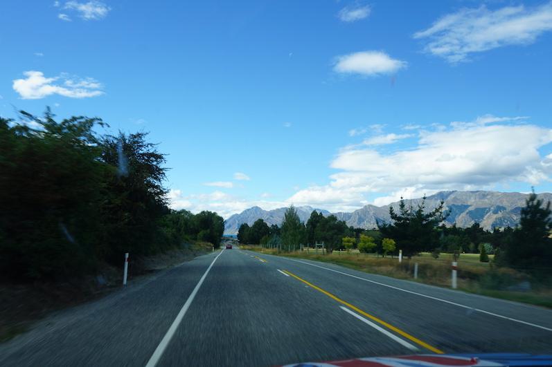 Der Weg zum Lake Hawea, Neuseeland | wat-erleben