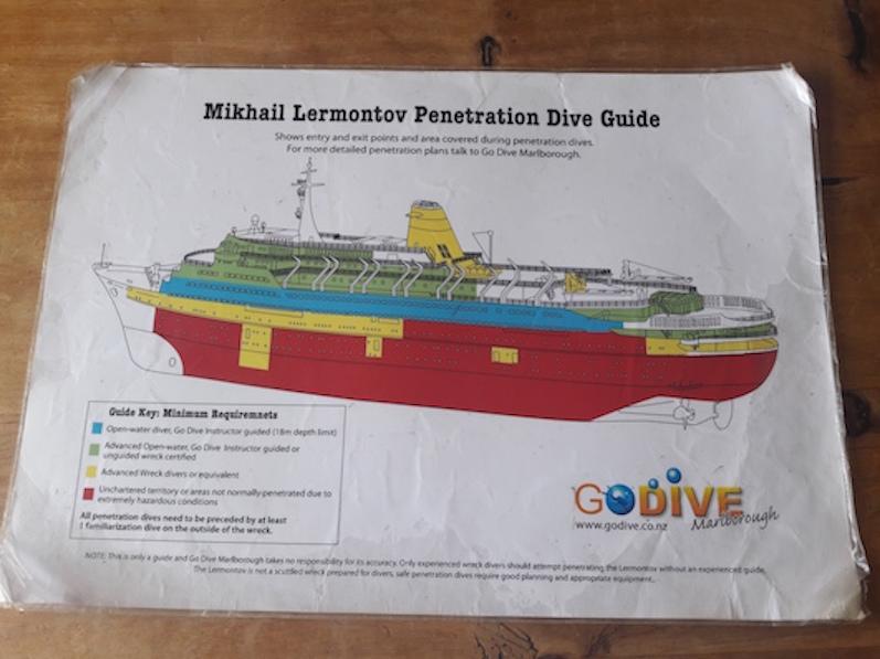 Die Mikhail Lermontov, Port Gore, Neuseeland |wat-erleben