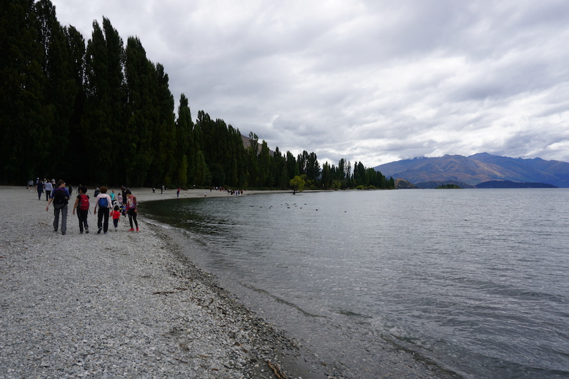 Lake Wanaka, so sieht es aus, wenn man das Gesamtbild fotografiert | wat-erleben