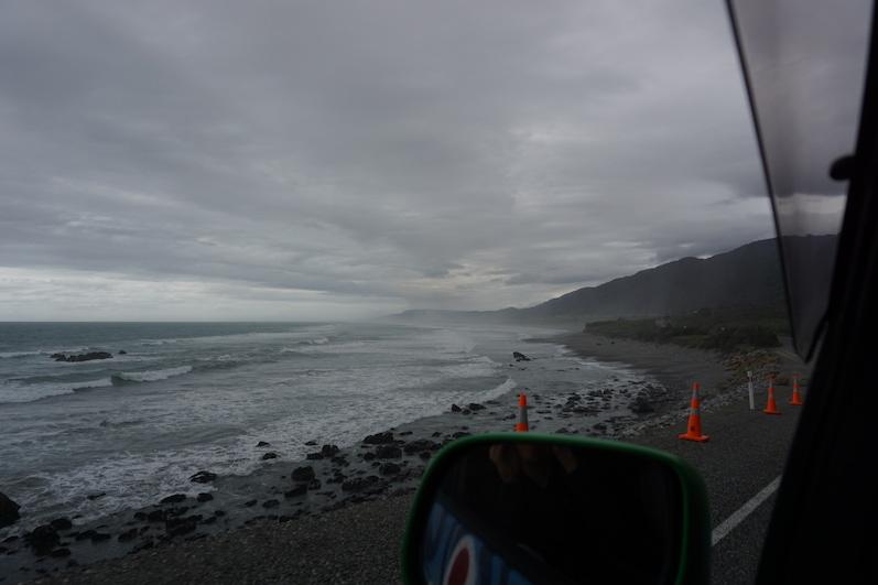 Raue See, auf dem Weg zu den Pancake Rocks, Neuseeland | wat-erleben