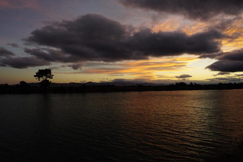 Sonnenuntergänge an unseren Stellplätzen haben es uns vermutlich angetan, Blenheim, Neuseeland |wat-erleben