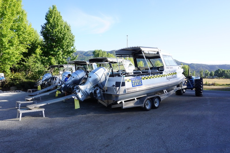 Taxi? - alle Mann an Bord, Abel Tasman, Neuseeland |wat-erleben