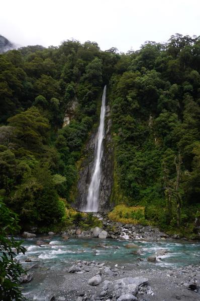 Thundercreek Wasserfall, Neuseeland | wat-erleben