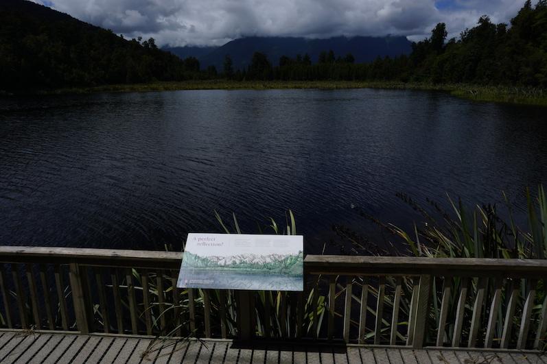 Wie Sie sehen, sehen Sie nichts, Lake Matheson, Neuseeland | wat-erleben