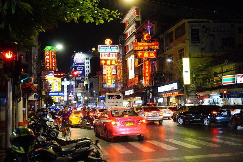 Chinatown in Bangkok, zuviel Auswahl zum Essen, Bangkok, Thailand | wat-erleben