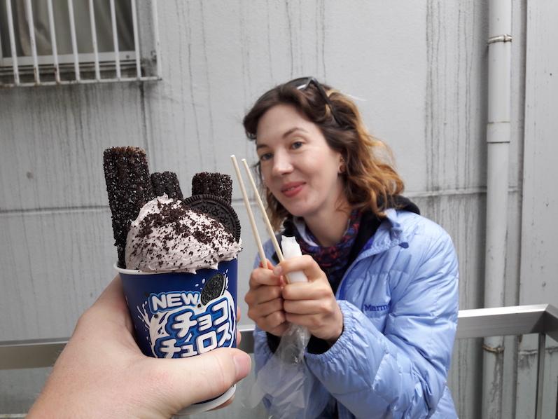 Choco Churros mit anschließendem Zuckerschock, Tokio, Japan | wat-erleben