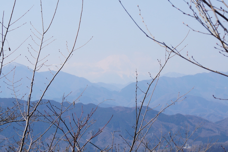 Da ist er, Mount Fuji, Wanderung Mount Takao, Tokio | wat-erleben