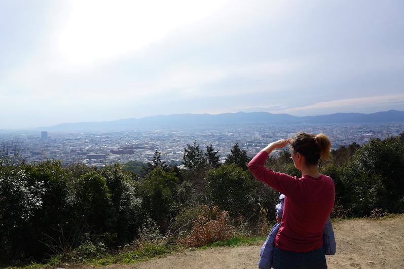 Den Gipfel hatten wir für uns allein, Fushimi-Schrein, Japan |wat-erleben