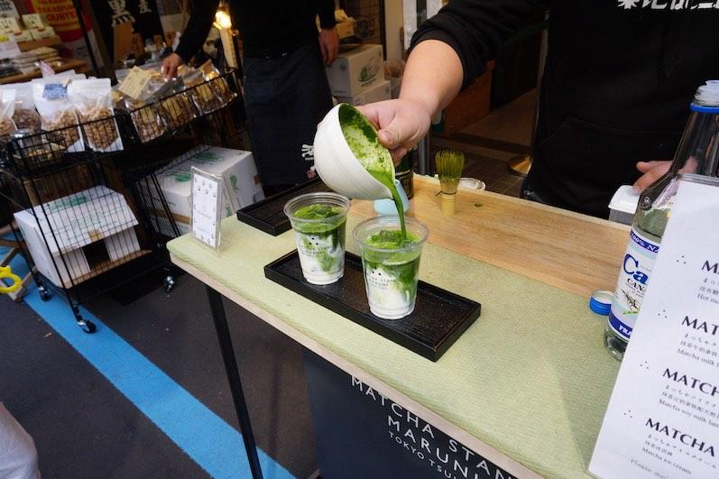 Der Iced-Matcha-Latte, klare Empfehlung, Tokio | wat-erleben