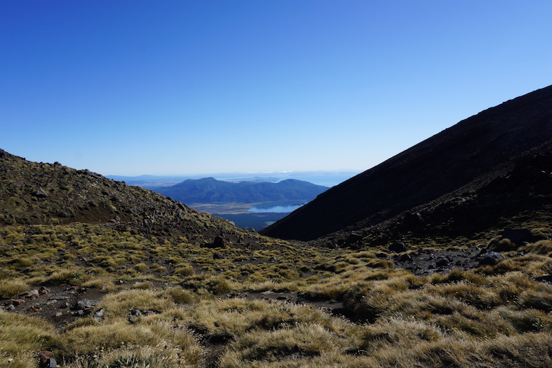 Der Rückweg beim Tongariro, Neuseeland | wat-erleben