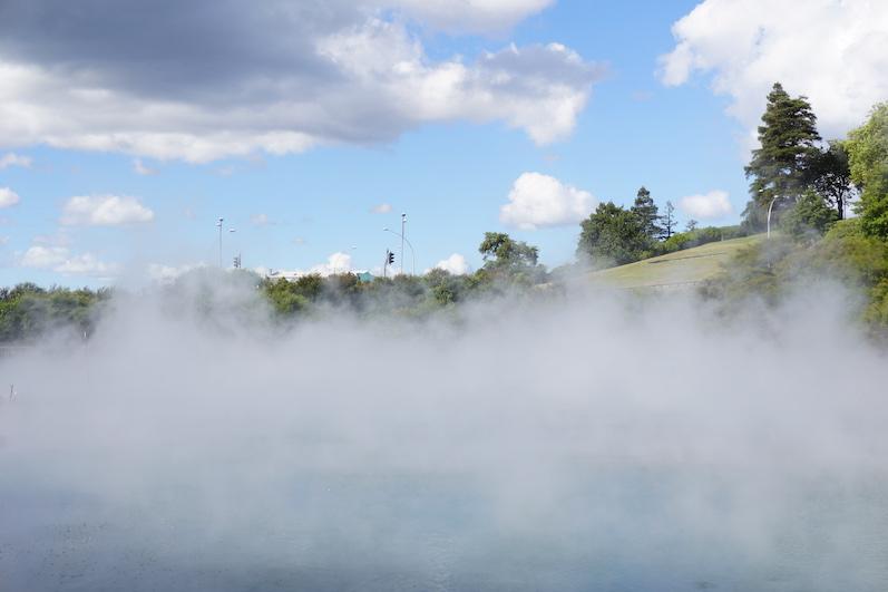 Der Stadtpark von Rotorua, Neuseeland | wat-erleben