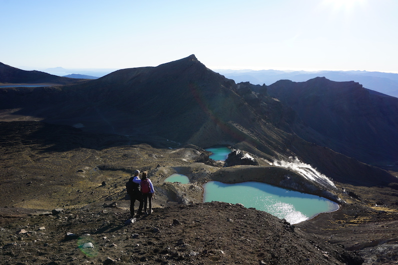 Emerald Lakes, Tongariro Alpine Crossing, Neuseeland | wat-erleben