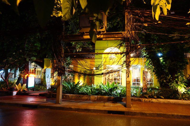 Ist das Kunst? Nein, nur zu viele Kabel, Bangkok, Thailand | wat-erleben
