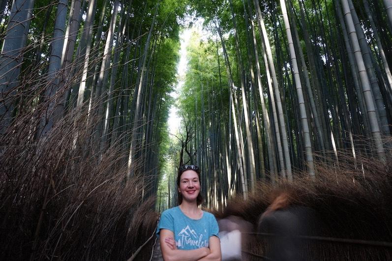 Man sieht den Wald vor lauter Bambus nicht, Kyoto, Japan |wat-erleben